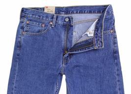 NEW LEVI'S STRAUSS 505 MEN'S ORIGINAL STRAIGHT LEG STONEWASH JEANS 505-4891 image 3