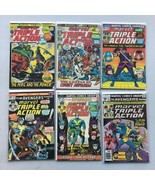 Lot of 6 Marvel Triple Action (1972) #4 7 13 23 24 34 - $27.72