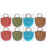 10 pc WHOLESALE TOTE BAGS HANDMADE MIRROR EMBRO... - $58.91