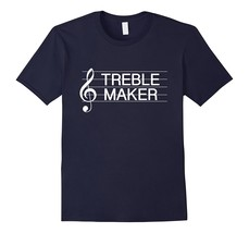 Special Shirt - Treble Maker Clef Funny Music Pun T-Shirt Men - $19.95+