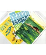 Lot of 2 Trader Joe's Birthday Wishes Greeting Cards New Unused In Plastic - $12.99
