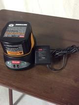 Genuine Ryobi 9.6V Volts Battery Charger No. 140295002 + Battery No. 130... - $36.95