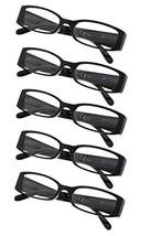 5-Pack Ladies Reading Glasses Black,+1.50 - $16.04