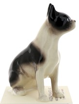 Hagen-Renaker Miniature Ceramic Dog Figurine Boston Terrier Pedigree Sitting