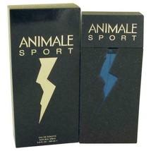 Animale Sport by Animale Eau De Toilette Spray 6.7 oz for Men - $23.37
