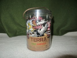 Terra By Battat Wild Animal Figures-60 Piece-New? In Plastic Container - $10.00