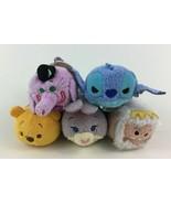 "Tsum Tsum Pooh Bing Bong Judy Hopps Plush Stuffed 5pc Lot Mini 3.5"" Toy ... - $19.75"