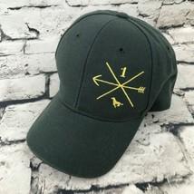 Arrow Compass Boys One Sz Hat Gray Adjustable Baseball Cap By Kidz Kap - $9.89