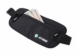 Jan Outdoor Travel Money Belt with RFID Blocking Protection-Water Resistant-Adju