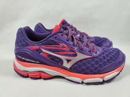 Mizuno Wave Inspire 12 Women Running Shoes Size US W 6.5 EU 36.5 Purple Pink - $26.99