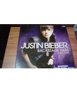 Justin Bieber Backstage Pass Board Game  - $5.00