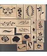 Stampin' Up! Two-Step Stampin Hand-Painted Petites Set of 20 Retired 1999 - $59.99