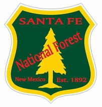 Santa Fe National Forest Sticker R3304 New Mexico You Choose Size - $1.45+