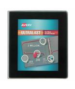 """new Avery UltraLast View Binder w/1-Touch Slant Rings, 1"""" Cap, Black (AV... - $17.64"""