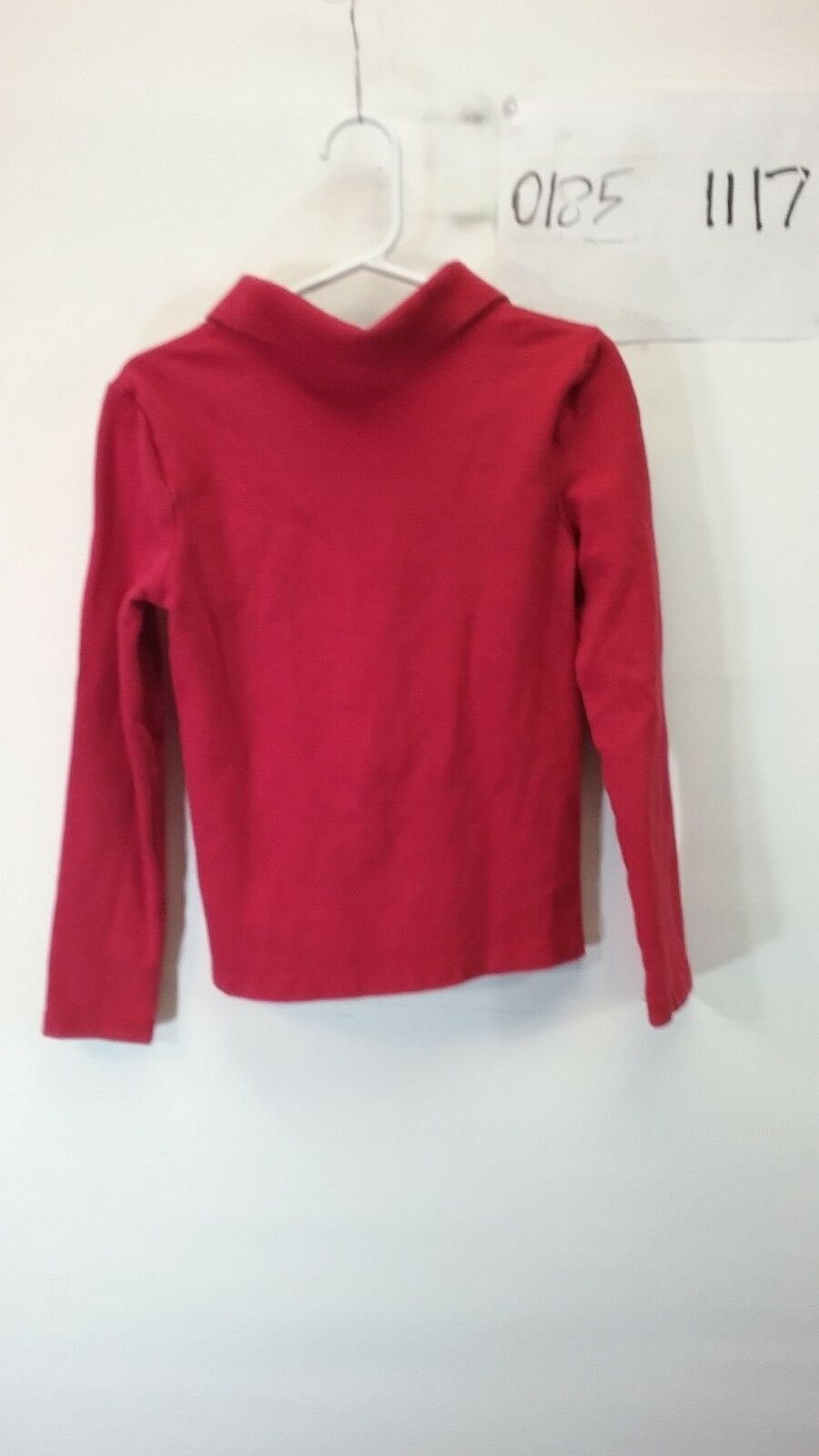 Gap Kids Boy's Red Long Sleeve Polo Shirt Size Small image 2