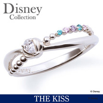 Disney × THE KISS  Princess Little Mermaid Ariel Silver 925 Ring 4 5 6 7... - $167.00