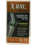 (New) XRay Triple Action Joint Supplement Vitamin D, 60 tabs - $22.36