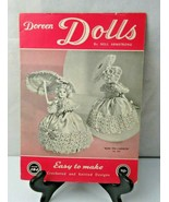 Rare Doreen Dolls by Nell Armstrong 1954 magazine crochet pattern - $15.00