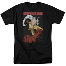 Japanese superhero Saitama One-Punch Man Manga webcomic graphic t-shirt OPM105 image 1