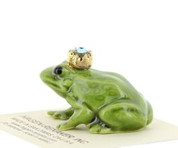 Birthstone Frog Prince March Simulated Aquamarine Miniatures by Hagen-Renaker image 2