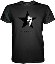 David Bowie TShirt Memorial Blackstar Black Star Short Sleeve Graphic Tee - $14.00+