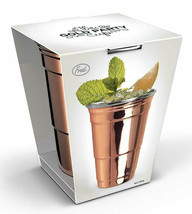 Fred's Mighty Moscow Mule Copper Stainless Steel 16 oz. Party Cup Brand NEW