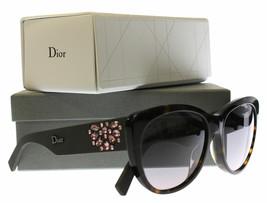 NEW Christian Dior Havana Brown  Crystal Inedite  Bojeu Matte Sunglasses... - $213.82