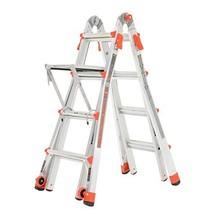 Little Giant Ladder Systems 17-Foot Multi-Position Aluminum LT Ladder - $258.11