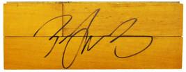 Zach LaVine Signed  8x3 Basketball Court Floor Piece - $105.00