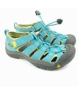 KEEN Sandals Sz 4 Newport H2 Hawaiian Blue Waterproof Sport Bumper Toe 1... - $22.15