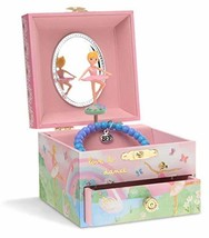 JewelKeeper Musical Jewelry Box with Spinning Ballerina, Rainbow and Gol... - €15,80 EUR