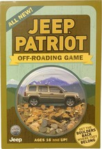 Jeep Patriot, promotional Off-Roading Game, Get the Boulders Back - $14.99