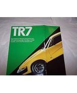 Triumph TR7 Owners Sales Brochure Parts Service   - $19.99