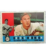 Brooks Robinson 1960 Topps Batting Pose Card#28 EX/MINT Condition-Oriole... - $49.49