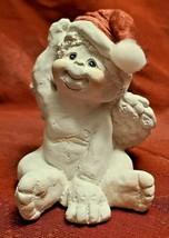 Dreamsicles 1993 Santas Little Helper Figurine Cast Art Signed Kristin image 1