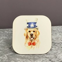Golden Retriever Coaster,Gifts For Dog Lovers,Mothers Day Gifts,Dog,Gift Ideas - $6.80