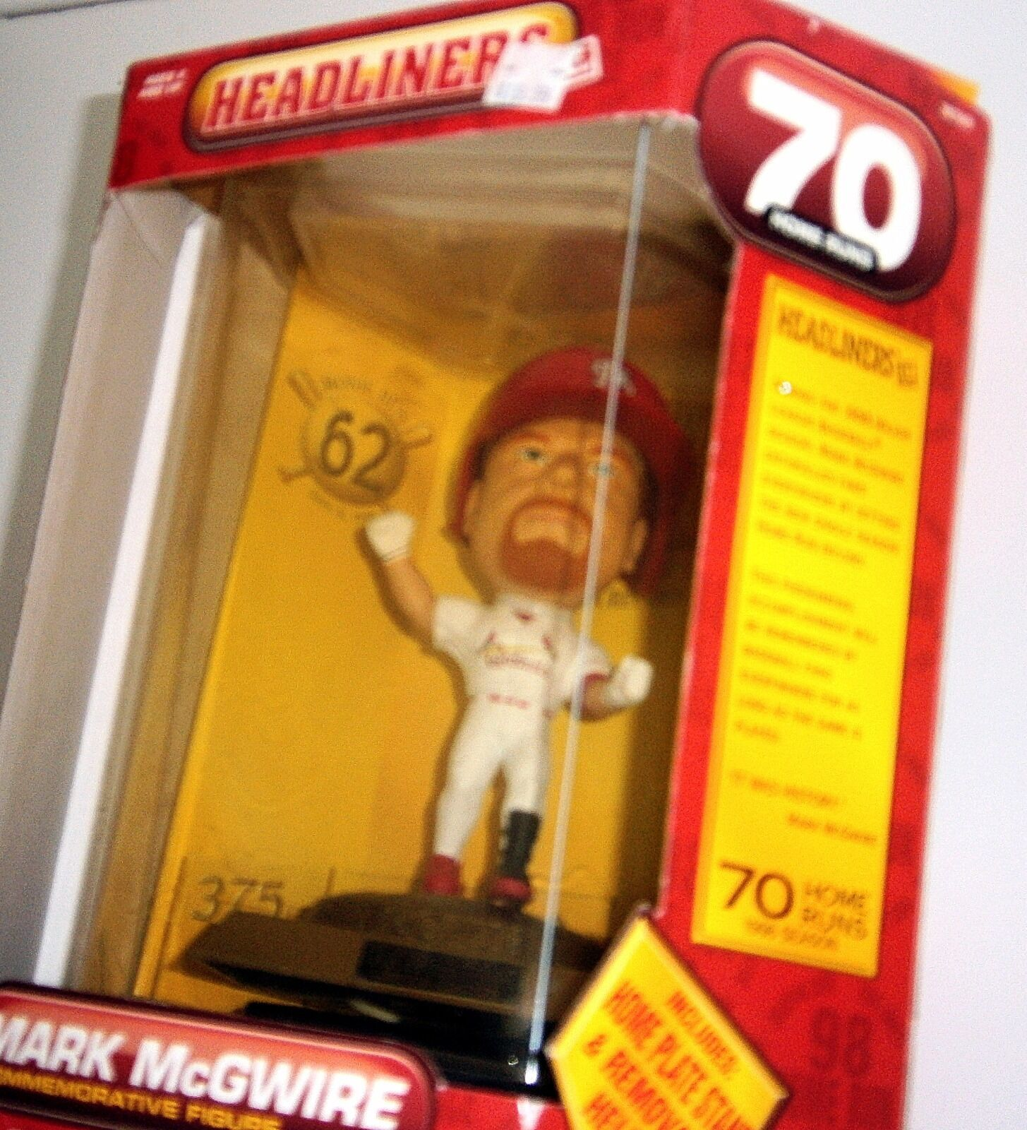 Primary image for Head Liners Mark McGwire Commemorative Figure