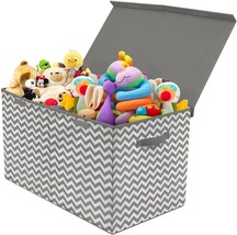 Sorbus Toy Chest with Flip-Top Lid, Kids Collapsible Storage for Nursery... - $33.15