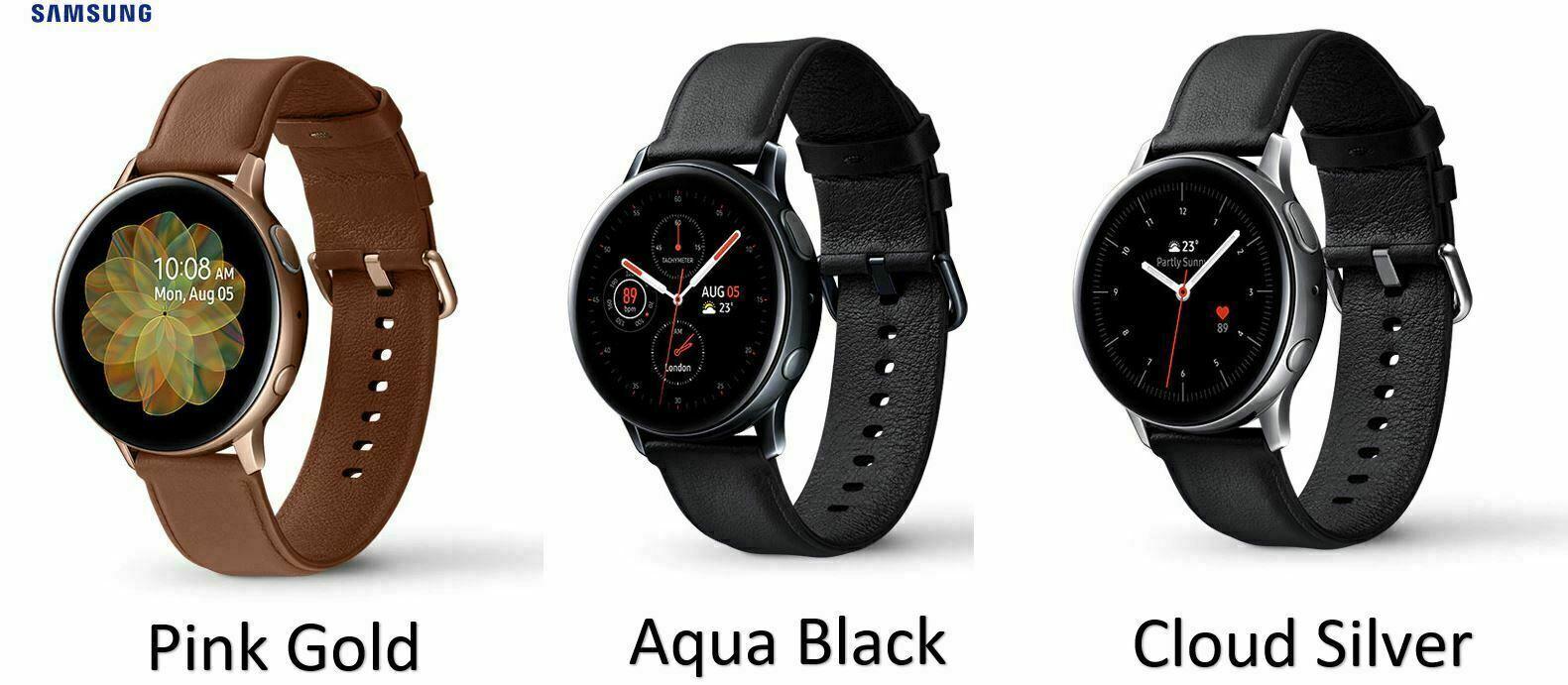 Samsung GALAXY Watch Active 2 Stainless SM-R820 Smartwatch- 40mm