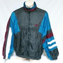 VTG 90s Nike Windbreaker Jacket Colorblock Coat Jordan Track Ski Swoosh ... - $69.99