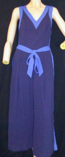 b6a533e21be0 Elevenses Anthropologie Beca s Jumpsuit Navy and 14 similar items. 12