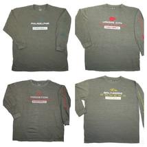 NFL Big Men's Team Standing Shirt Long Sleeve Football Tee T-Shirt Licensed NEW