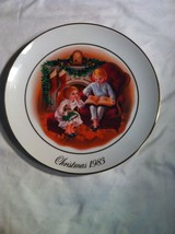 "1983 CHRISTMAS--AVON--10"" PLATE--THIRD EDITION--CHRISTMAS MEMORIES--SHIPS Free - $13.70"