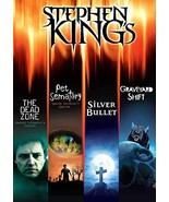 Stephen King Pet Sematary/Silver Bullet/The Dead Zone/Graveyard Shift DVD - $12.95