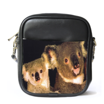 Sling Bag Leather Shoulder Bag Australian Koala Cute Funny Nature Animal... - $14.00
