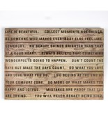 20 In. X 28 In. 'Life Is Beautiful' Wooden Wall Art - $112.99