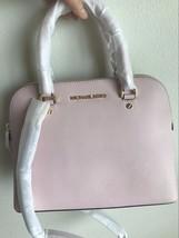 NWT Michael Kors Cindy Blossom Medium Dome Satchel Leather Handbag $258 - $139.99