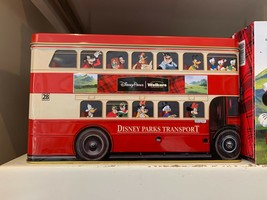 Disney Parks Bus Tin Container Disney Pals & Mickey Shortbread Cookies - $48.99