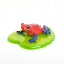 Ikimon Kaiyodo Nature Techni Colour STRAWBERRY POISON DART FROG animal f... - £13.36 GBP