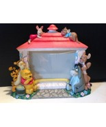 Walt Disney Whinnie The Pooh And Friends Resin Picture Frame  - $18.81